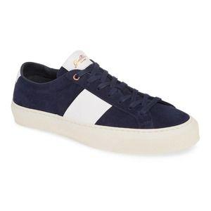 GOOD MAN BRAND Legacy Lo Top Sneaker 8.5 Mens Navy